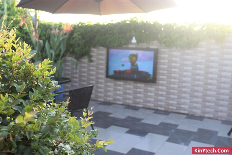 outdoor box TV