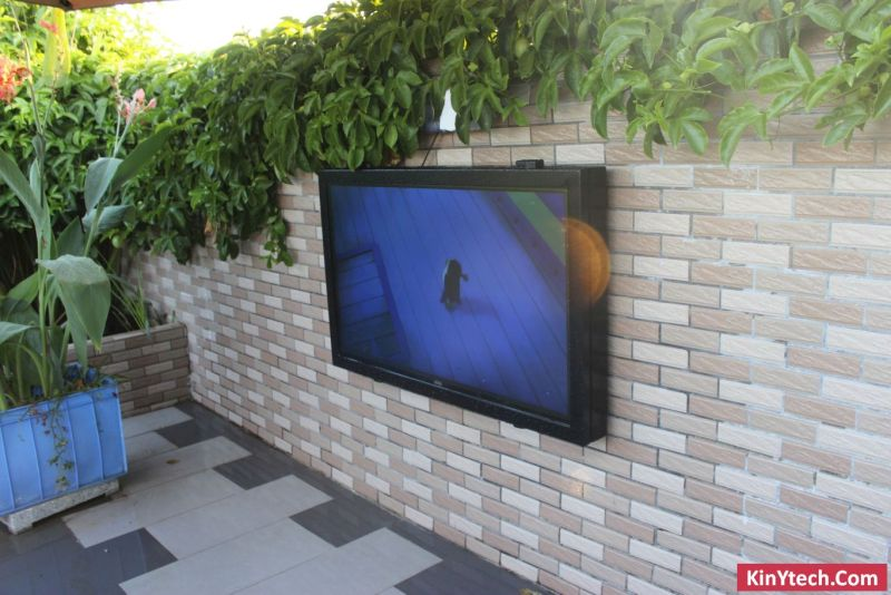 decodificador de TV al aire libre