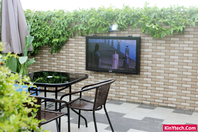 outdoor tv behuizing
